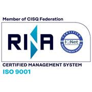 Metra - certificato Rina ISO 9001