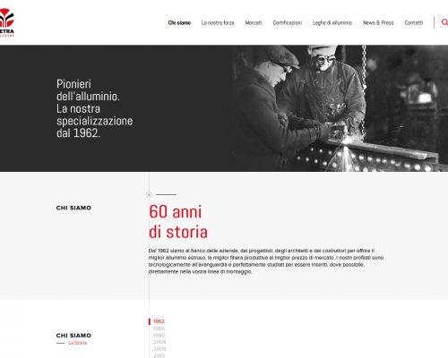 Metra - presentazione nuovo sito e veste grafica