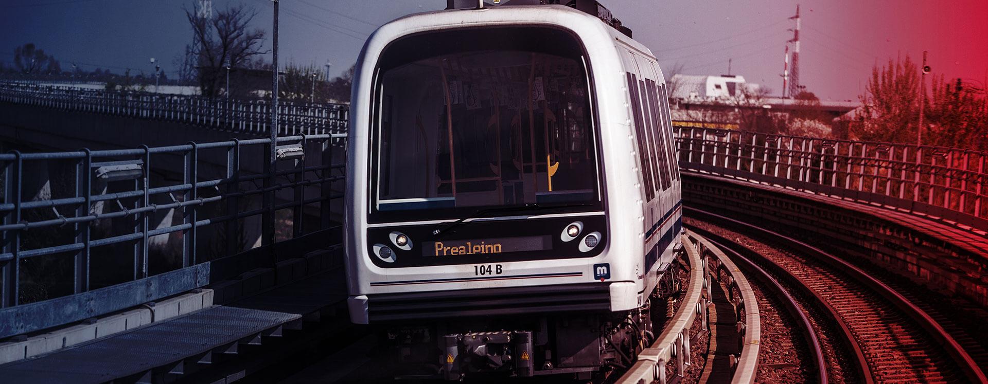 Metra - alluminio per il settore railway