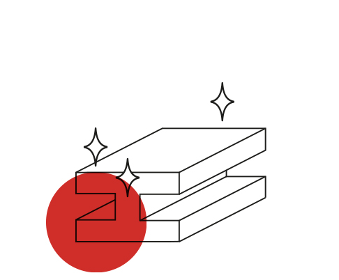 Metra - Icona filiera produttiva - Finiture