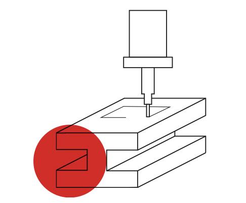 Metra - Icona filiera produttiva - Lavorazioni meccaniche